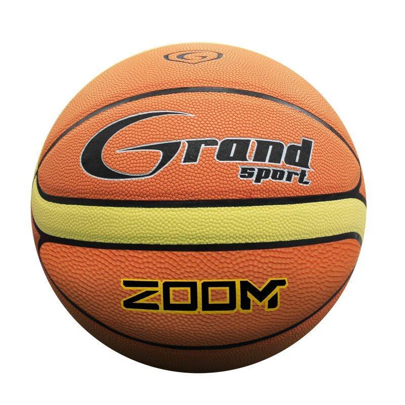 Grand sport ลูกบาสเกตบอลรุ่น Zoom (สีส้ม-ครีม) ...