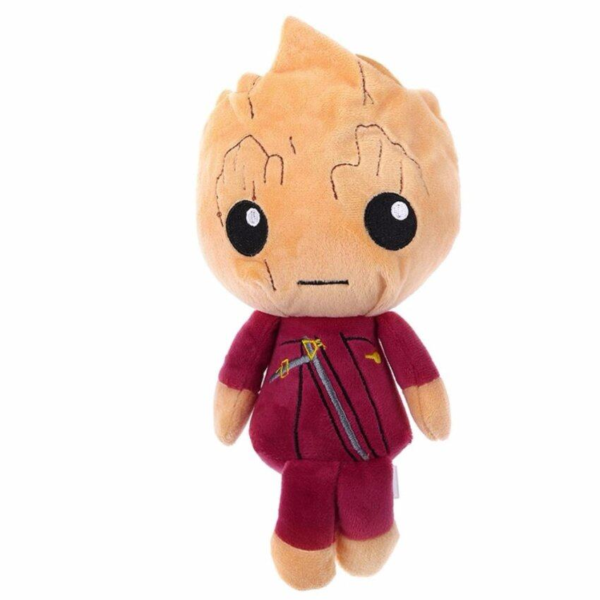 Guardians of The Galaxy Vol 2 Star-Lord Baby Groot Rocket Raccoon Plush Toy Doll - intl ...