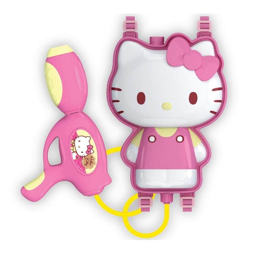 Hello Kitty ปืนฉีดน้ำเป้การ์ตูน - คิตตี้ สีชมพู