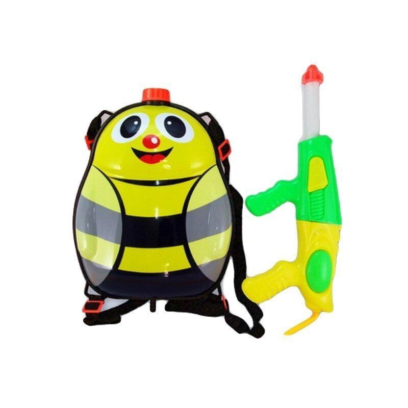 Hellomom ปืนฉีดน้ำอัดแรงดัน แบบเป้ 15 นิ้ว Water gun bag 15 with presure