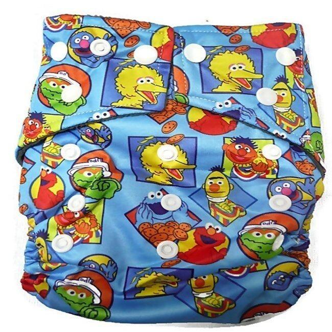 Hey! Baby Joe กางเกงผ้าอ้อมลายการ์ตูน รุ่น BJN-30