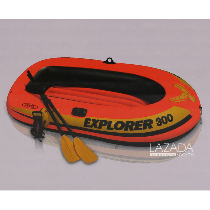 Intex Explorer 300 boat set 916870 ...