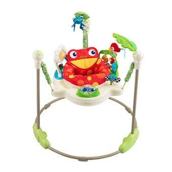 Jeab Toys Baby Walker Rain Forest Jumperoo (สีเขียว/ขาว)