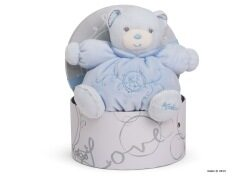 Kaloo ตุ๊กตาหมี KALOO PERLE - SMALL CHUBBY BEAR BLUE สีฟ้า