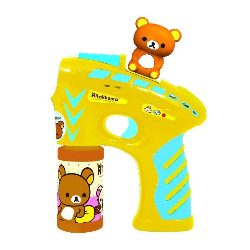 Keak toys Rilakkuma ของเล่น ปืนเป่าฟอง-รีลัคคุมะ