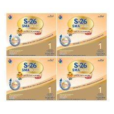 ขายยกลัง! S-26 SMA GOLD 1 เอส-26 เอส เอ็ม เอ โกลด์ 1 800 กรัม (4กล่อง/ลัง) โปรโมชั่น