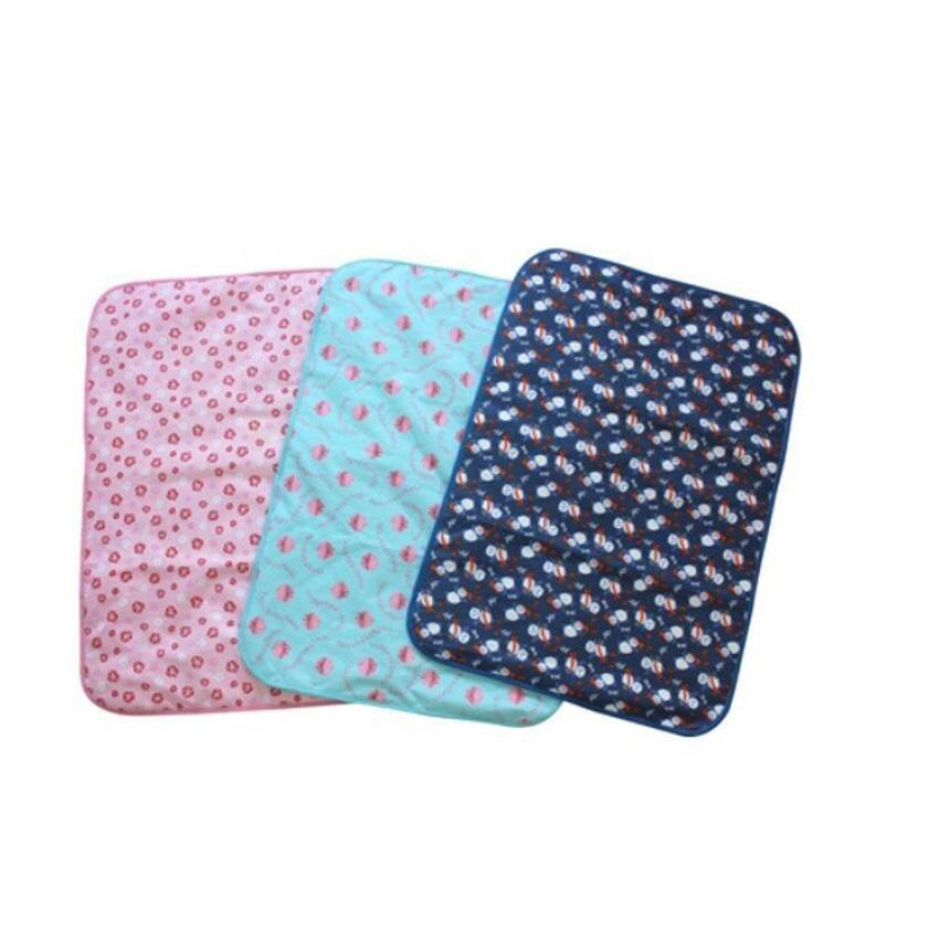 Lanyasy Baby Infant Reusable Cotton Cloth Waterproof Urinal Padcover Mat Mattress Pad,Small Size - intl