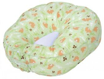 Leachco Podster Lounger Pillow Replacement Cover - Green Bears (Intl)