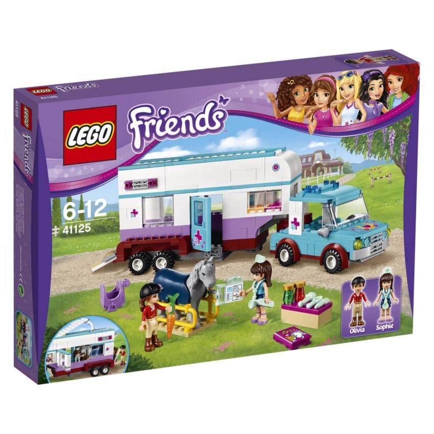 LEGO ตัวต่อเสริมทักษะ เลโก้ เฟรน ฮอส เวท เทลเลอร์ - 41125