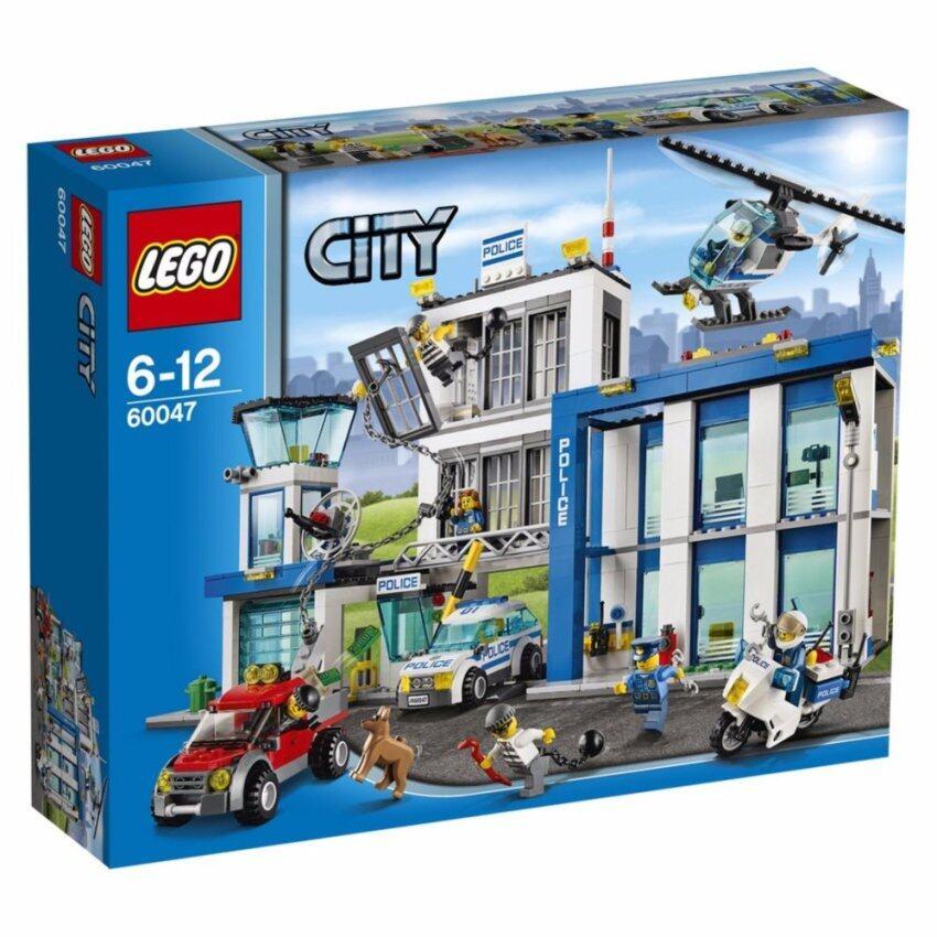 LEGO ตัวต่อเสริมทักษะ เลโก้ ซิตี้ โพลิต สเตชั่น - 60047