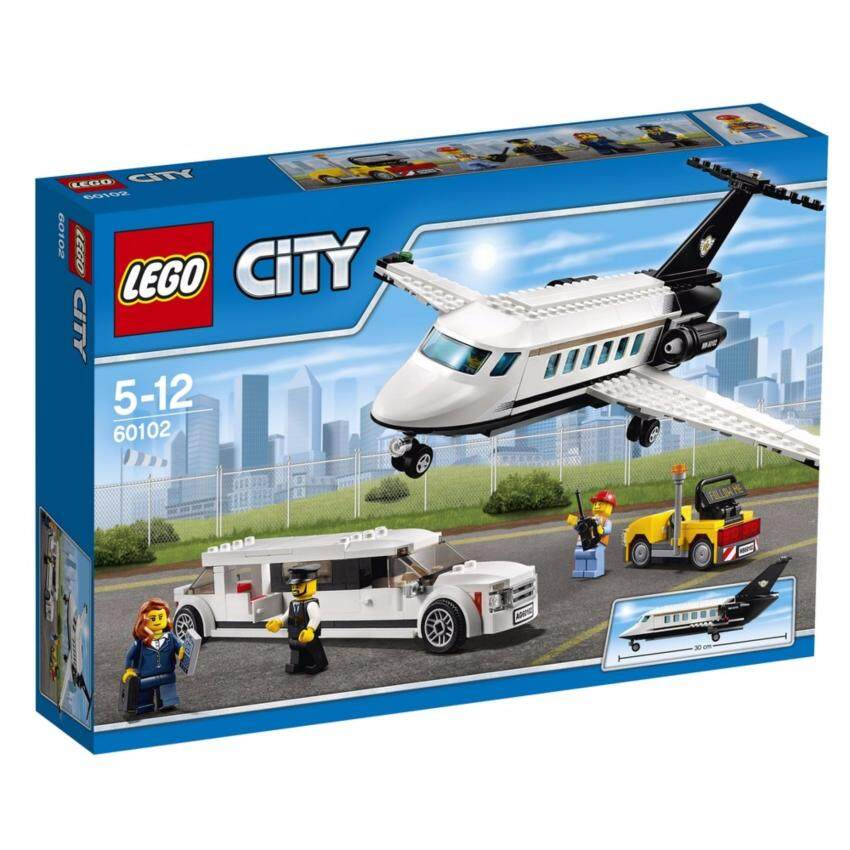 LEGO ตัวต่อเสริมทักษะ เลโก้ แอร์พอร์ต แอร์พอร์ต วีไอพี เซอร์วิส - 60102