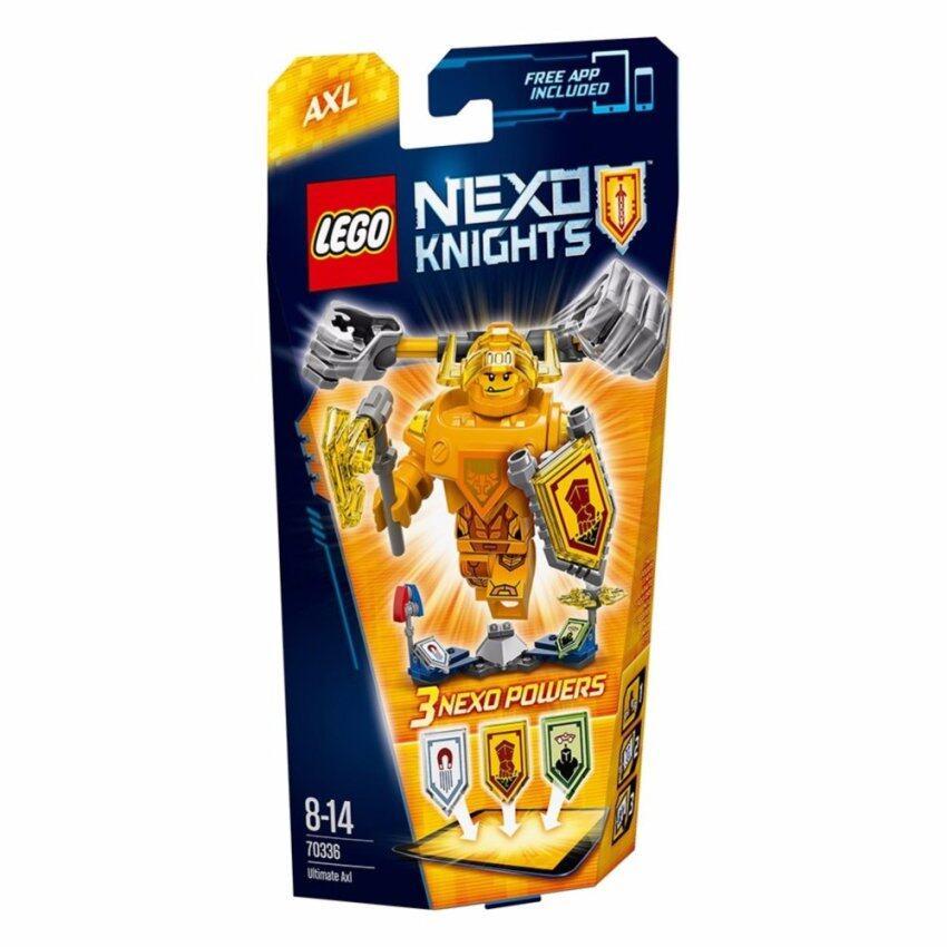 LEGO ตัวต่อเสริมทักษะ เลโก้ เน็กโซไนท์ ยูติเมท แอ็กเซิล - 70336