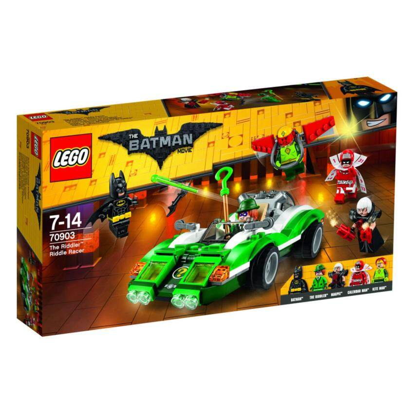 LEGO ตัวต่อเสริมทักษะ เลโก้ แบทแมน มูฟวี่ แคทวูแมน แคทไซเคิล เชส - 70903