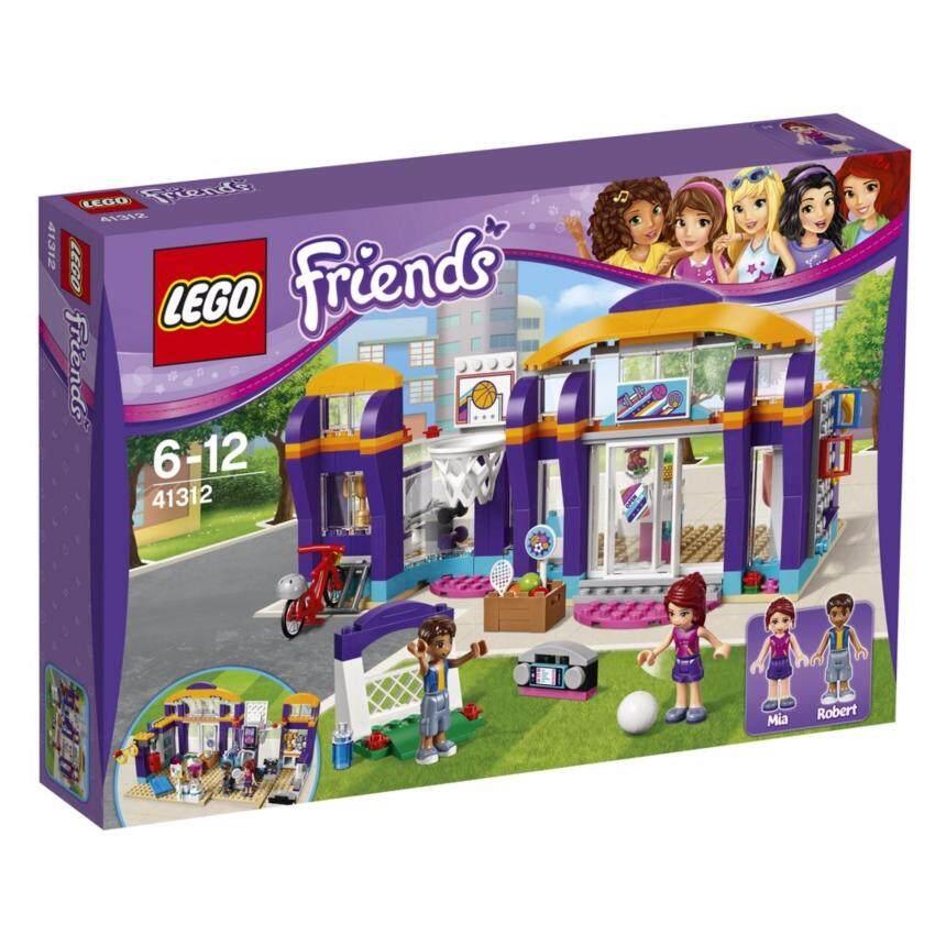 LEGO ตัวต่อเสริมทักษะ เลโก้ เฟรนด์ฮาร์ทเลค สปอร์ต เซ็นเตอร์ Heartlake Sports Centre - 41312