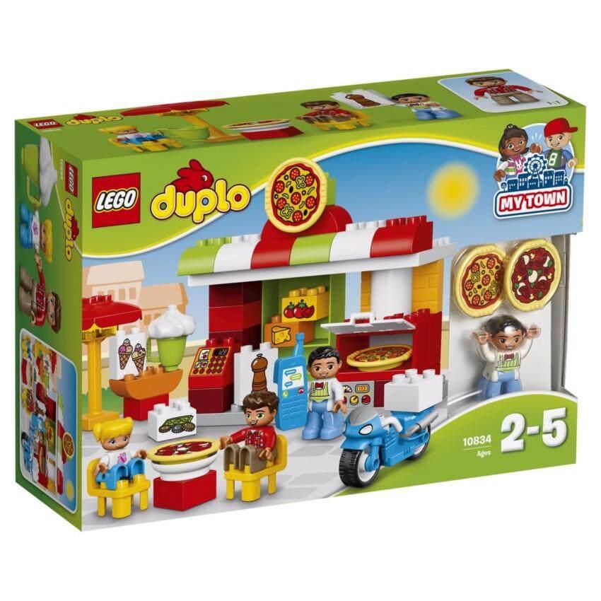 LEGO ตัวต่อเสริมทักษะ เลโก้ ดูโปล ทาวน์ พิซซาเรีย Pizzeria - 10834