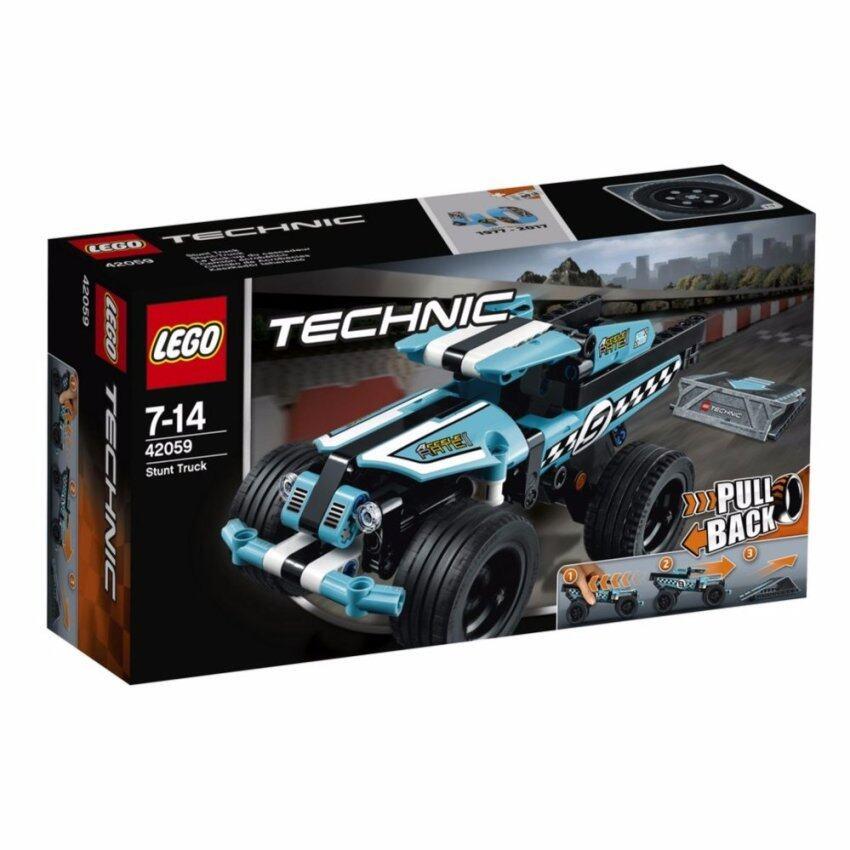 LEGO ตัวต่อเสริมทักษะ เลโก้เทคนิคสตั๊นท์ ทรัค Stunt Truck - 42059