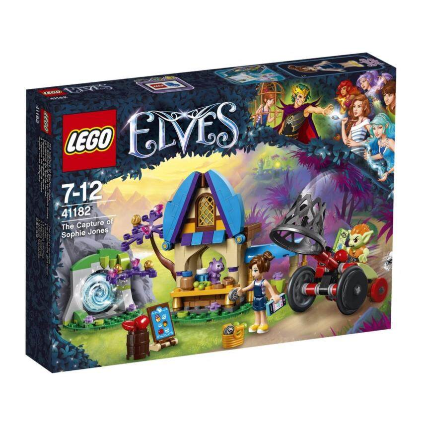 LEGO ตัวต่อเสริมทักษะ เลโก้ เอลฟ์ เดอะ แคปเจอร์ ออฟ โซฟี โจนส์ The Capture of Sophie Jones V29 - 41182