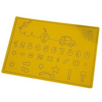 Lovely Kids / Food / Coffee / Dinner Mat (Yellow) - intl