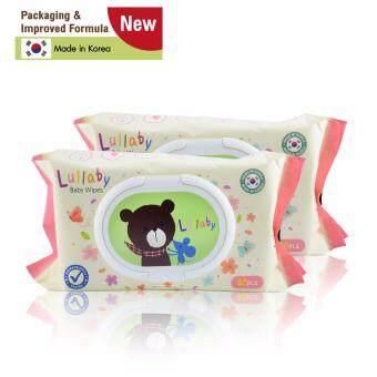 Lullaby baby wipes ทิชชู่เปียกลัลลาบาย แพคเกจจิ้ง ใหม่ จำนวน80แผ่น โปรโมชั่น ซื้อ 1 แพ็ค ฟรี 1 แพ็ค ราคา 209 บาท
