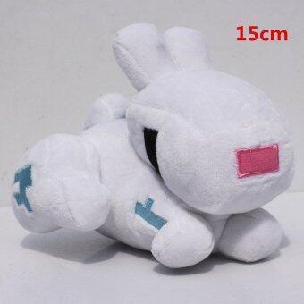 Minecraft Plush 15cm Sqid Plush Rabbit Enderman Creeper Plush Baby Ship Octopus Cow Ghast