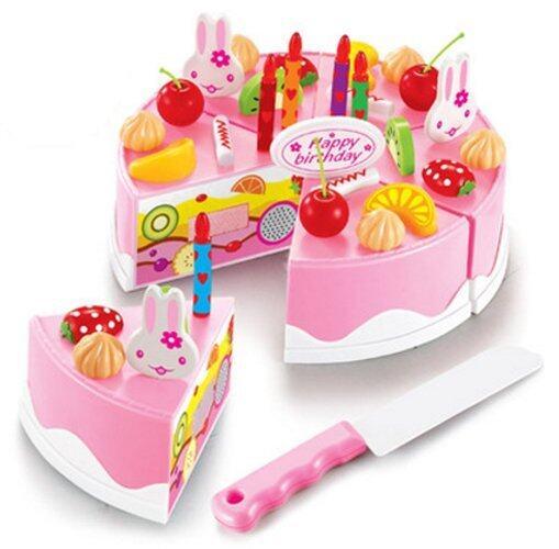 Morestech ชุดหั่นขนมเค้กและตกแต่งเค้ก 37 ชิ้น (DIY Fruit Cake) 889-21