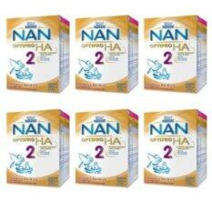 Nestle NAN HA2 700 กรัม (6 กล่อง) โปรโมชั่น
