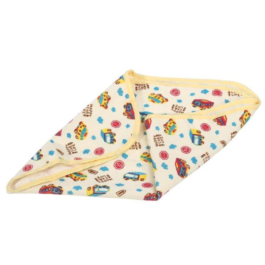 Newborn Baby Changing Urinal Pad Waterproof Cotton Diaper Inserts Changing Cushion (Car M) - intl