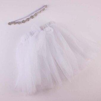 Newborn Baby Girls Boys tutu Dress Costume Photo Photography Prop Outfits WH - intl
