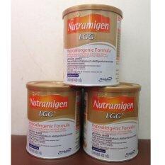 Nutramingen LGG นมผงสำหรับเด็กแพ้นมวัว 400 กรัม (6 กระป๋อง) ถูกๆ