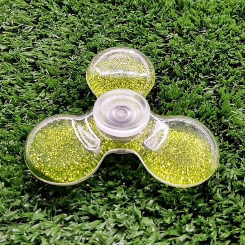 Pat-FIDGET SPINNER กากเพรช (Green)