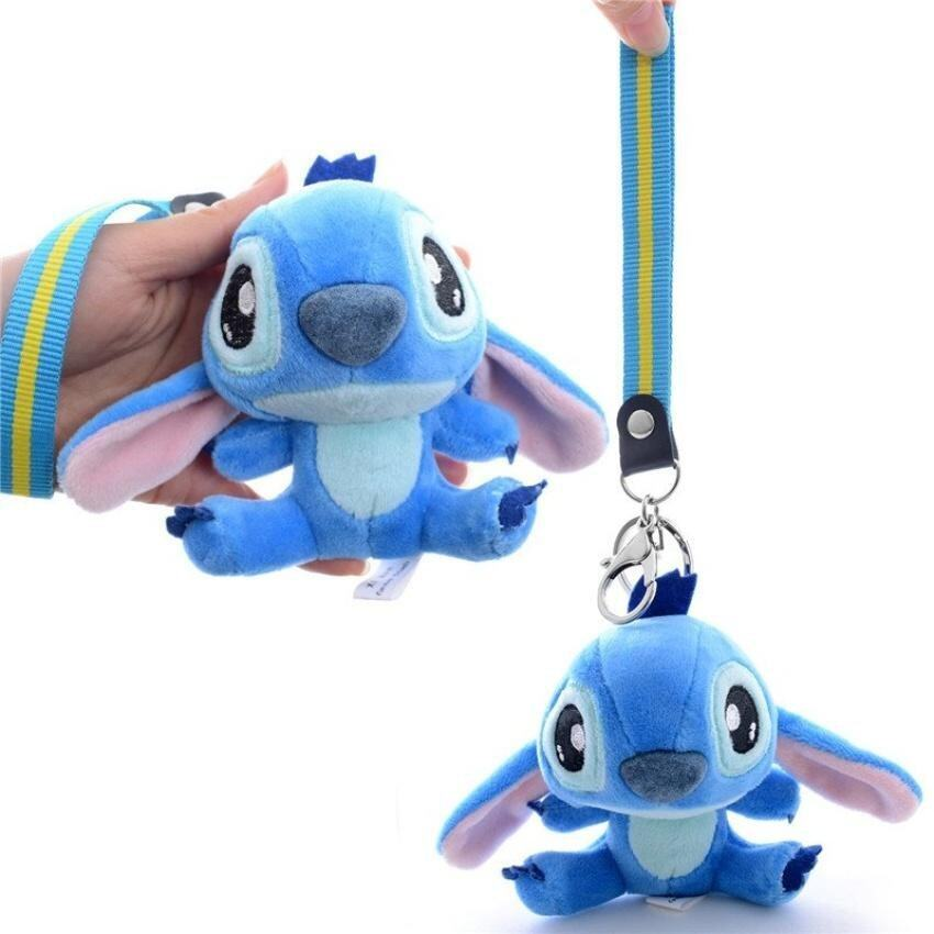 Plush Lilo&Amp;Stitch Dolls With Lanyard Cute Stuffed Stitchpendants For Kids Best Birthday Gifts For Kids 4 - intl