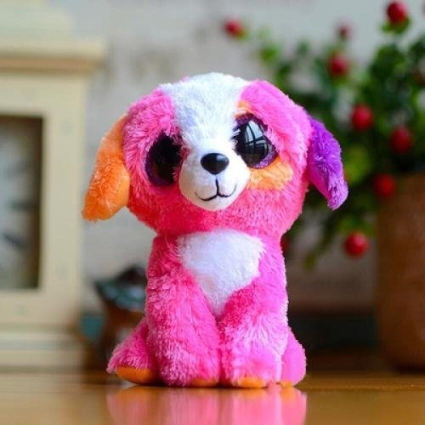 Plush Toy Big Eye Dog Panda Plush Toy - intl ...