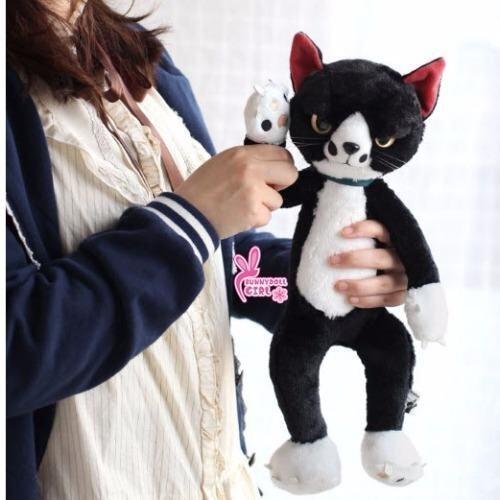 ตุ๊กตาแมวหน้าเหวี่ยง ตุ๊กตาแมวญี่ปุ่น ของขวัญ ของเล่นสำหรับเด็ก ตุ๊กตาน่ารักสำหรับทาสแมว ...