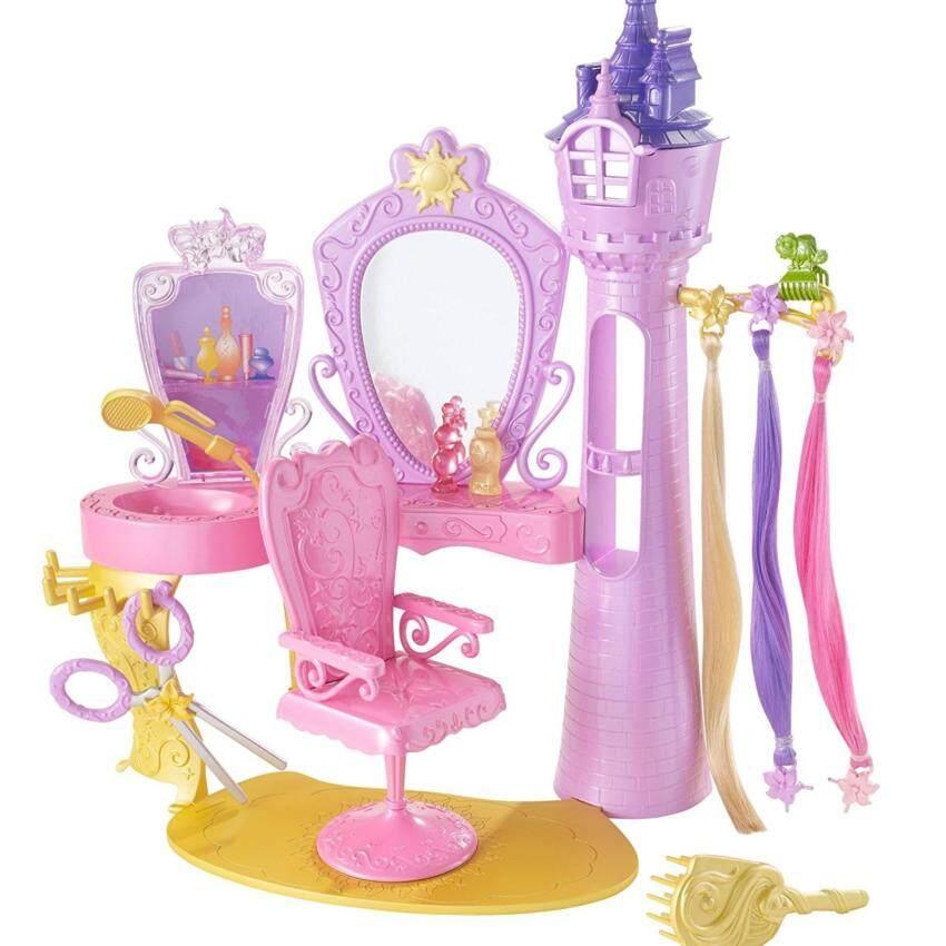 โต๊ะแต่งผมเจ้าหญิงราพันเซล(ไม่มีตุ๊กตา)มีกระจก แฮร์พีช เก้าอี้หมุนได้ ...