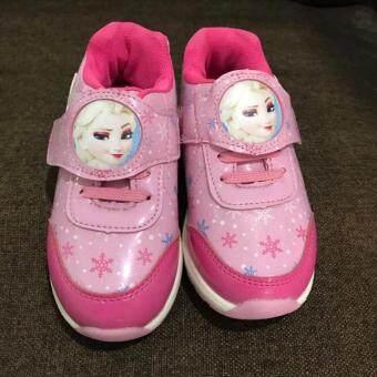 รองเท้าเอลซ่าสีชมพู