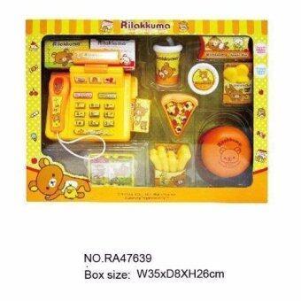 Rilakkuma ชุดแคชเชียร์ริลัคคุมะ(Yellow)