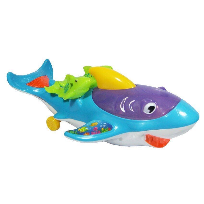 RWR TOY ของเล่น ปลาฉลาม วิ่ง ชน-ถอย มีเสียง มีไฟ 2014 ...