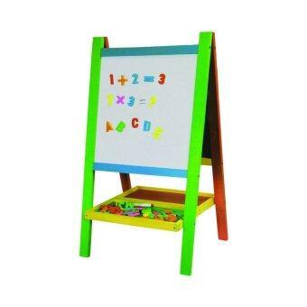 SK-Toys กระดานเรียนรู้ 2 ด้าน (ไวท์บอร์ด+กระดานดำ)