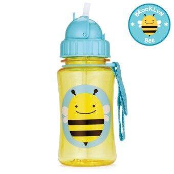 กระติกน้ำสำหรับเด็ก Skip Hop ลาย ผึ้ง พร้อมหลอดสำรอง 1 ชุด (ของแท้จาก USA)