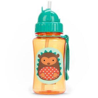 Skip Hop Zoo Straw Bottle, Hedgehog