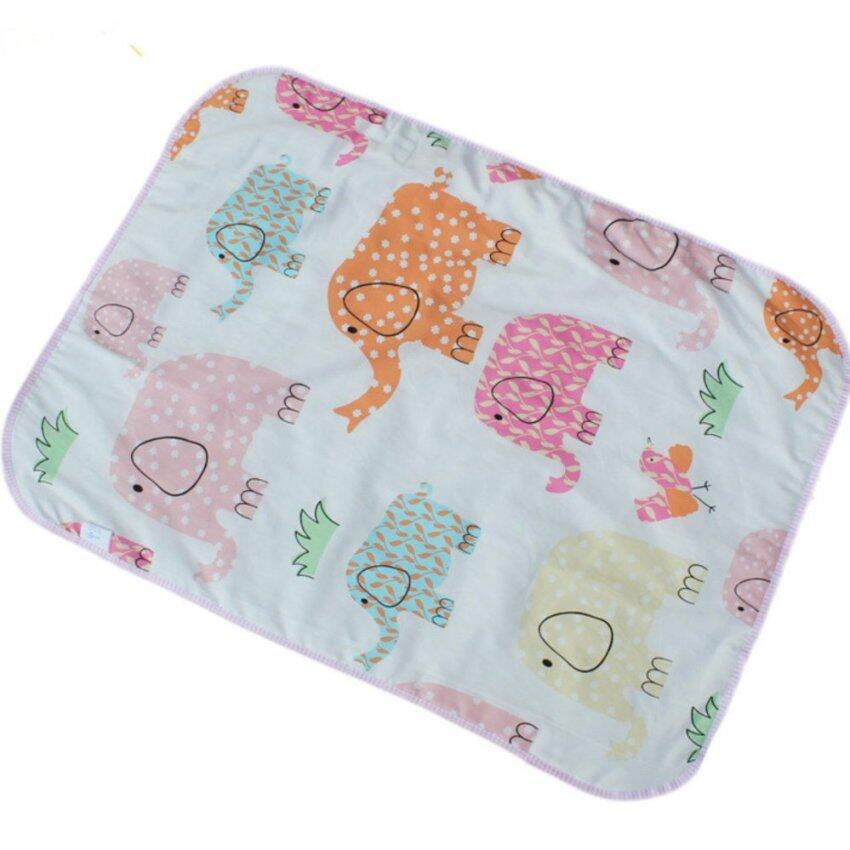 Soft and comfortable pail pals Baby cotton waterproof diaper pal 50*70 Baby Changing Pad - intl