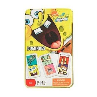 SpongeBob Squarepants Dominoes Game In Tin - Intl