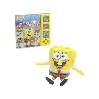 SpongeBob's Yard Sale Book and Plush Set - intl
