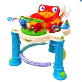 Super 3B Baby Walker รถหัดเดิน มีดนตรีและไฟหลากเสียง รุ่น RainForest Baby Walker Jumperoo RainForest With Music & Lighting