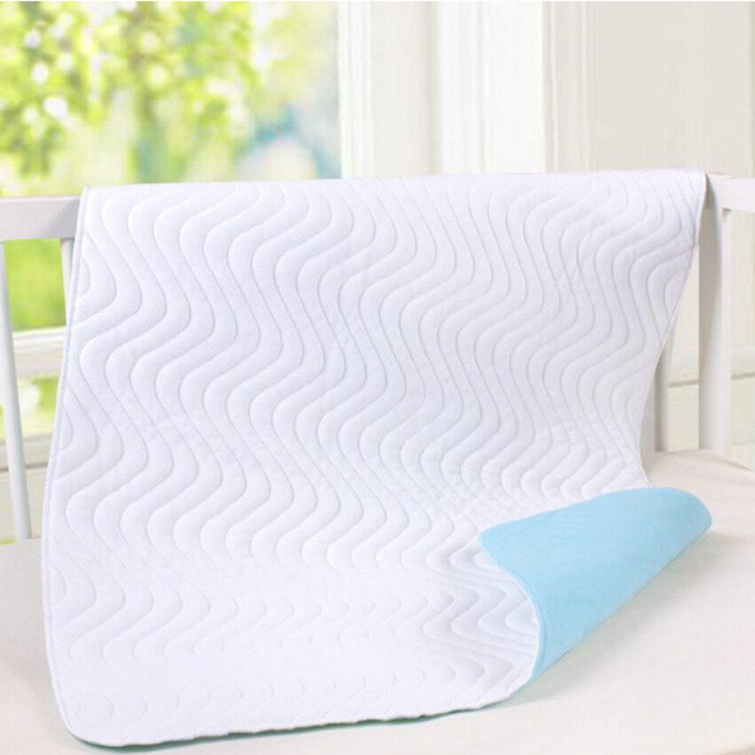 Super Absorbent Washable Reusable Incontinent Underpad Baby Elderpatient Infant Bed Urine Pad(70X45cm) - intl