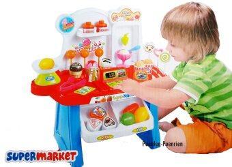 Super Market Play Set ชุดแคชเชียร์ขายไอติม (34 ชิ้น)