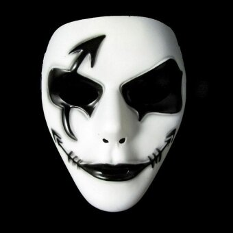 SWorld Halloween You Must Have It Creepy Ghost Dancer Face Mask Fancydress Costume Halloween Party Dress - Masks - intl