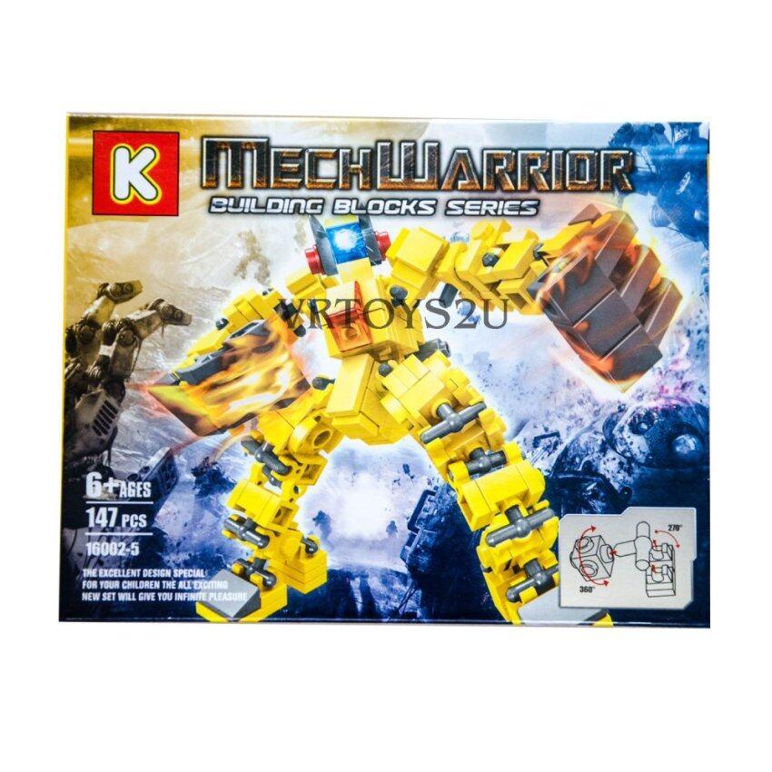 VRTOYS2U เลโก้หุ่นยนต์ 147 ชิ้น No.16002-5