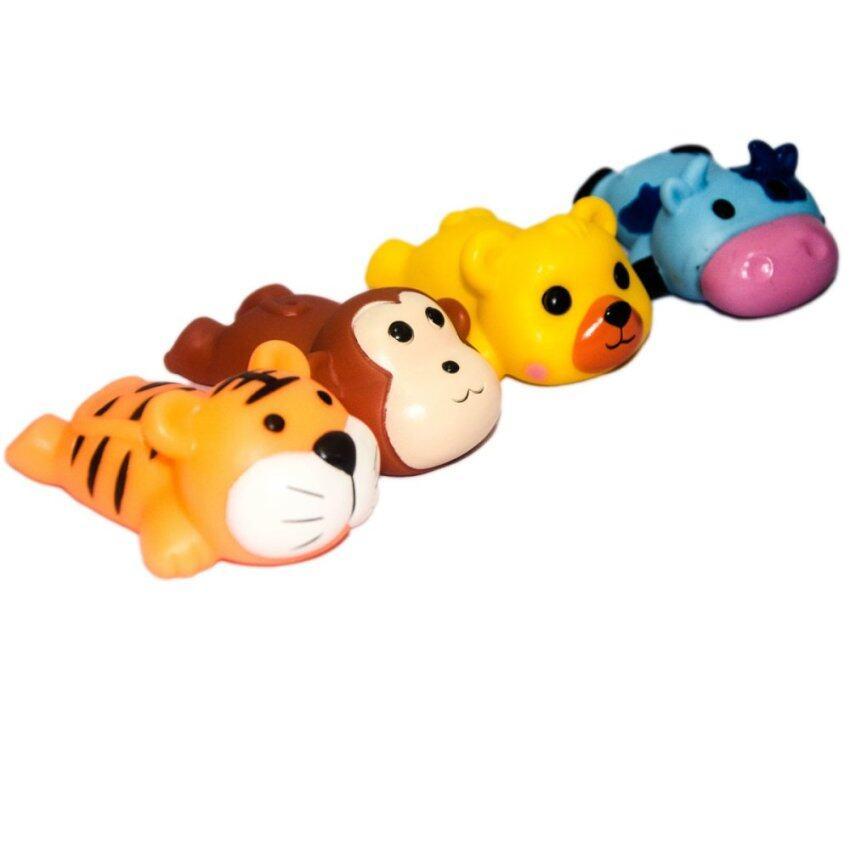 VRTOYS2U ตุ๊กตาเสือ ลิง สุนัข วัว(บีบมีเสียง) ...