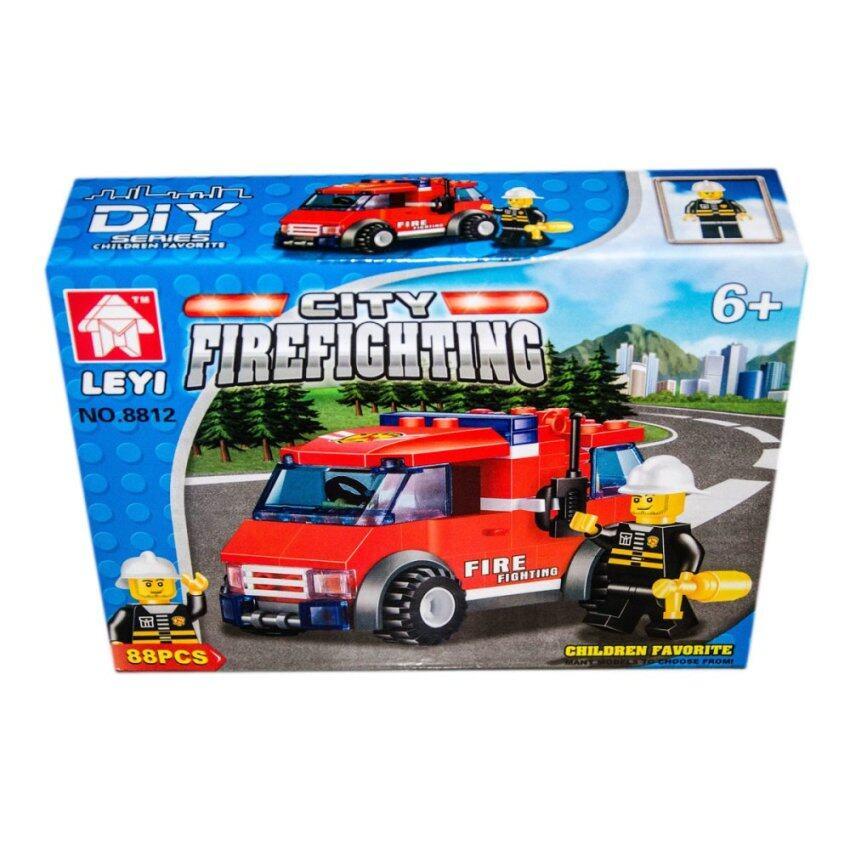 VRTOYS2U เลโก้ City Firefighting 88 ชิ้น No.8812